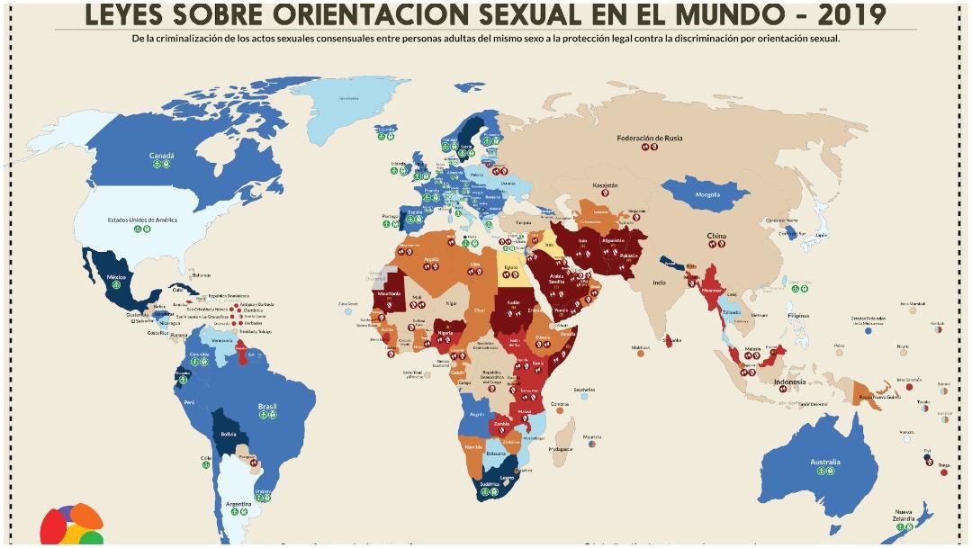 Situación actual en el mundo (ILGA)