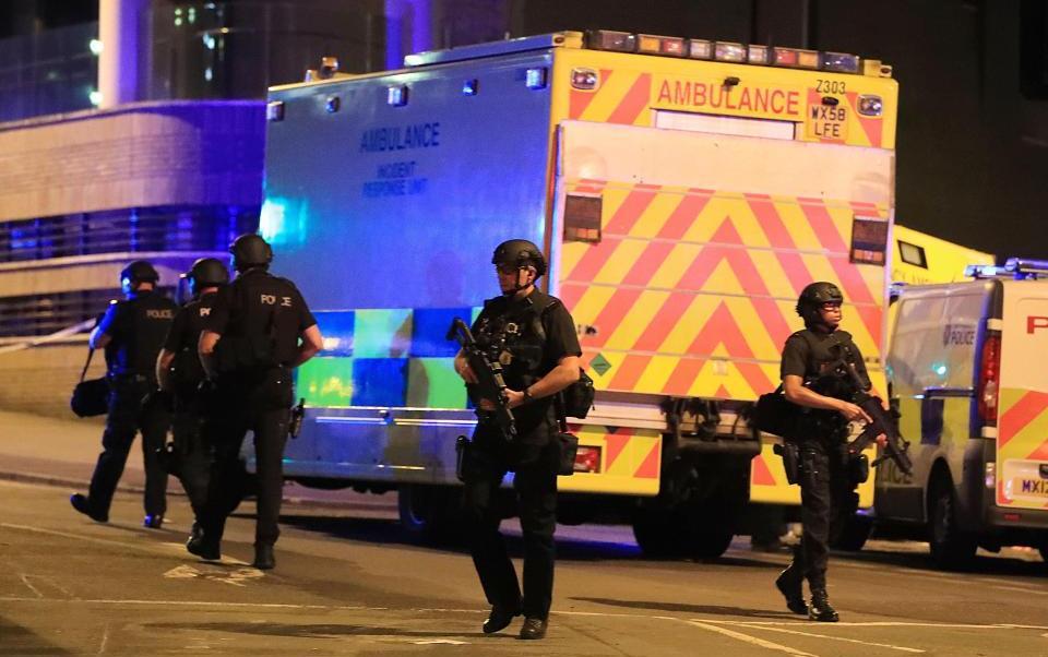 Ariana Grande, Manchester, explosiones, seguridad, concierto, terrorismo,