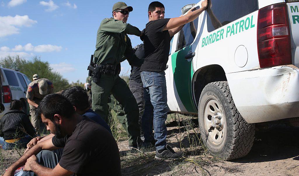 Agentes, Texas, migrantes, Donald Trump, policías, Estados Unidos, frontera,
