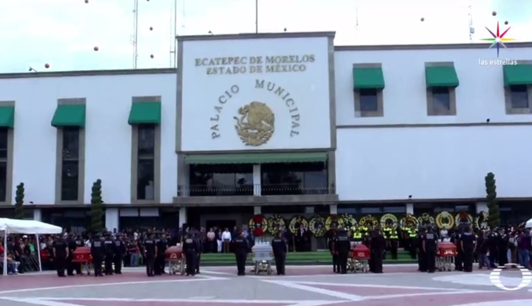 Emboscada, policías, Ecatepec, Estado de México, seguridad, muertos