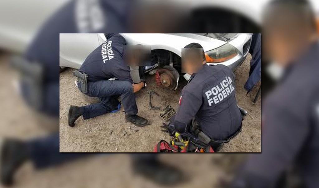 Fuerzas federales decomisan droga crystal en Navojoca