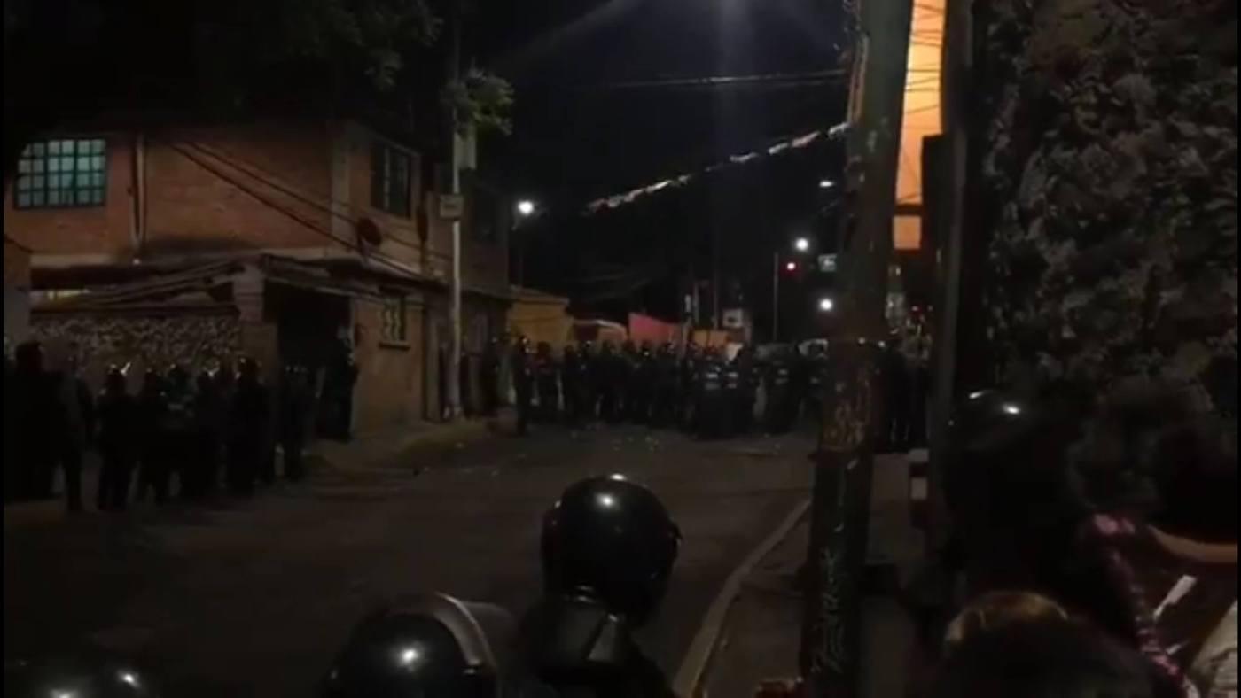 Policías frustran intento de linchamiento