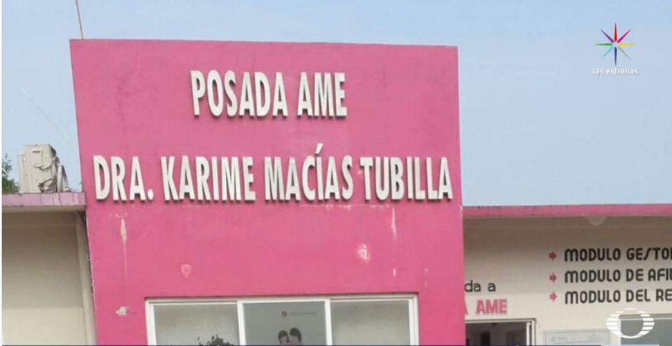 Posada con el nombre de Karime Macías, esposa de Javier Duarte