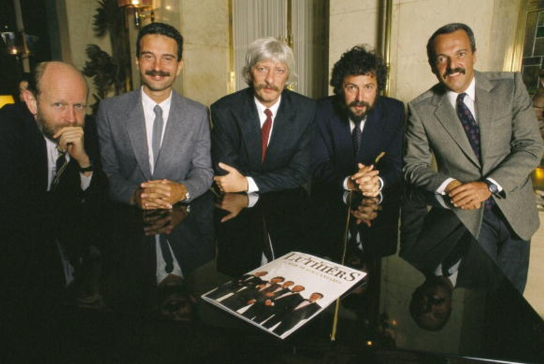 Integrantes del grupo musical 'Les Luthiers' (Getty Images/archivo)