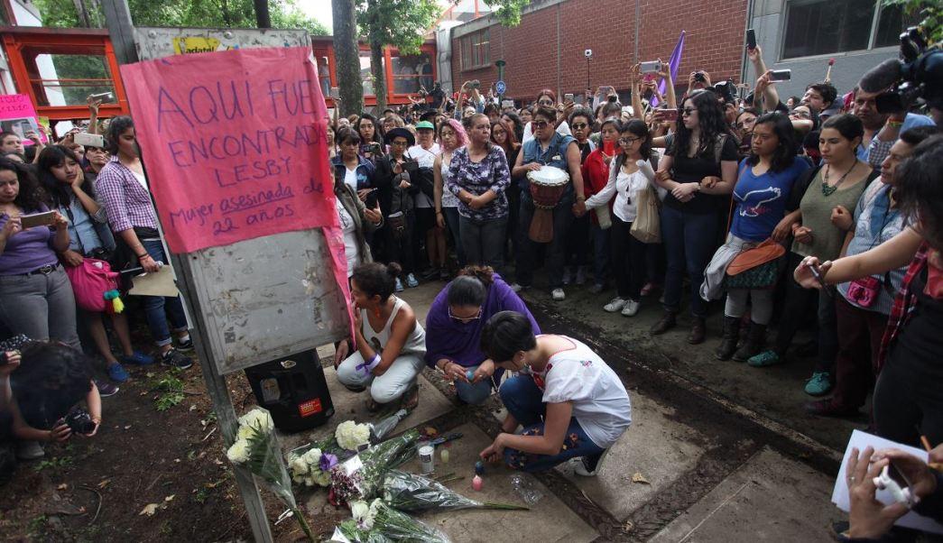 Unam, violencia, protesta, asesinato, homicidio, mujer