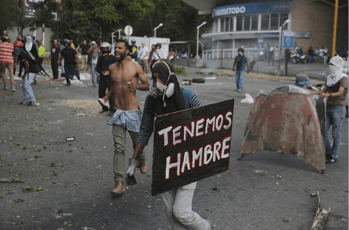 Protestas en Venezuela contra Nicolas Maduro