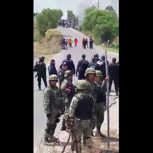 Fuerzas federales refuerzan seguridad en Puebla tras enfrentamientos con huachicoleros