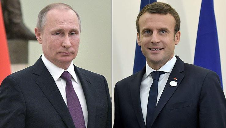 Francia, rusia, putin, macron, reunion, terrorismo,
