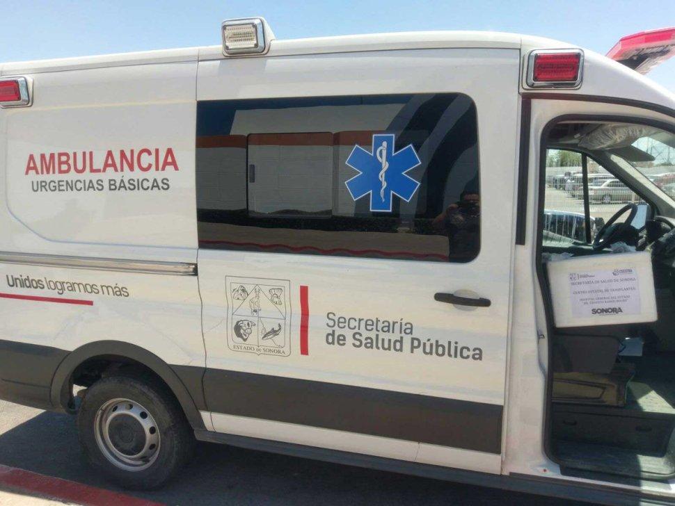 Realizan tres donaciones multiorgánicas en Sonora