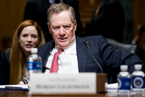 Robert Lighthizer fue ratificado por el Senado como jefe de Comercio Exterior de Estados Unidos. (Getty Images)