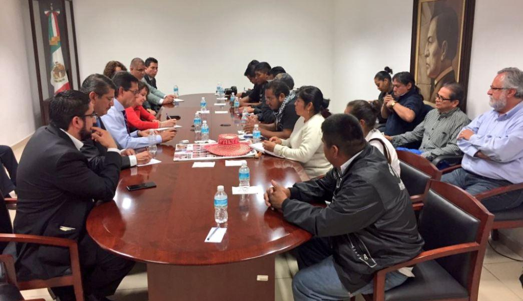 Normalistas, 43 normalistas ayotzinapa, Ayotzinapa, Segob, Reunion normalistas segob