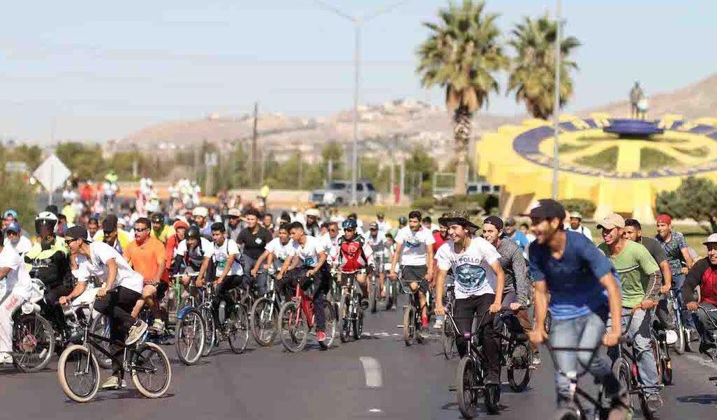 Ciclistas, Ciudad juarez, Chihuahua, Calor, Temperaturas, Noticias