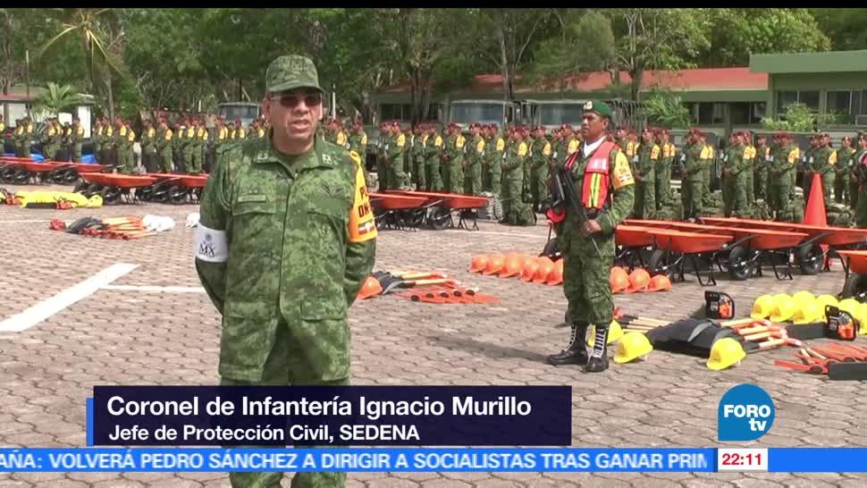 Sedena, demostración, Plan DN III-E, Quintana Roo, militares, ejercito