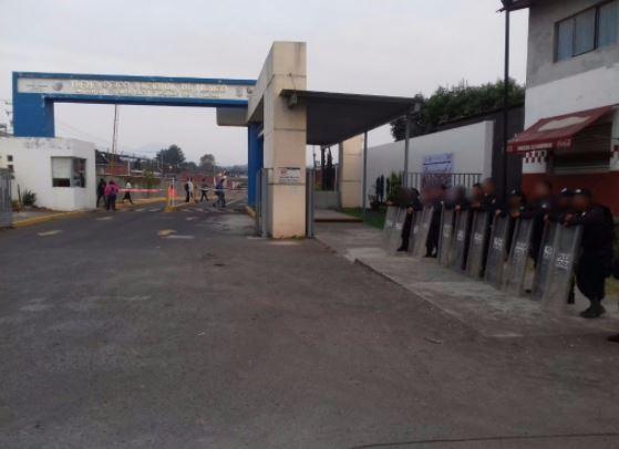 El operativo de vigilancia comprende planteles del Conalep (SSP Michoacán)