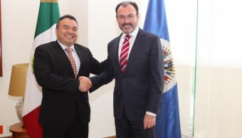 Relaciones exteriores, Videgarary, Oea, México, Secretario, Noticias