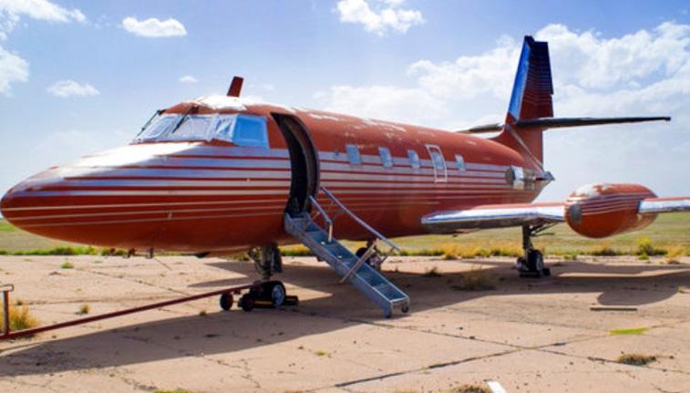 El jet privado que alguna vez fue propiedad de Elvis Presley (AP)