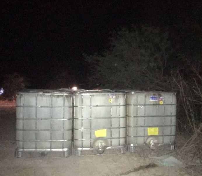 Militares aseguran más de 12 mil litros de gasolina en Tamaulipas