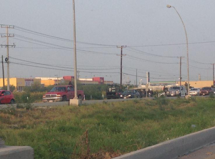 Policía de Tamaulipas refuerza seguridad tras enfrentamiento en libramiento a Monterrey