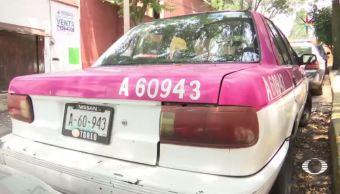 Taxi, asalto, Tlalpan, joven, agresiones, acoso