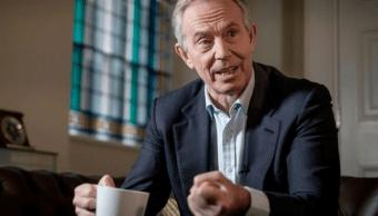 Tony Blair, exprimer ministro de Gran Bretana