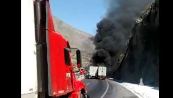 Traileres, Choahuila, Choques, Noticias, Estados, Accidente