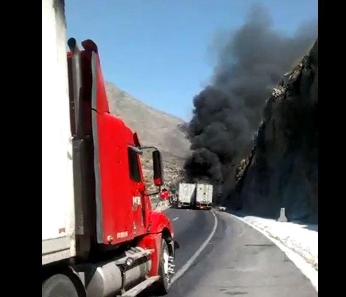 Traileres, Choahuila, Choques, Noticias, Estados, Accidente