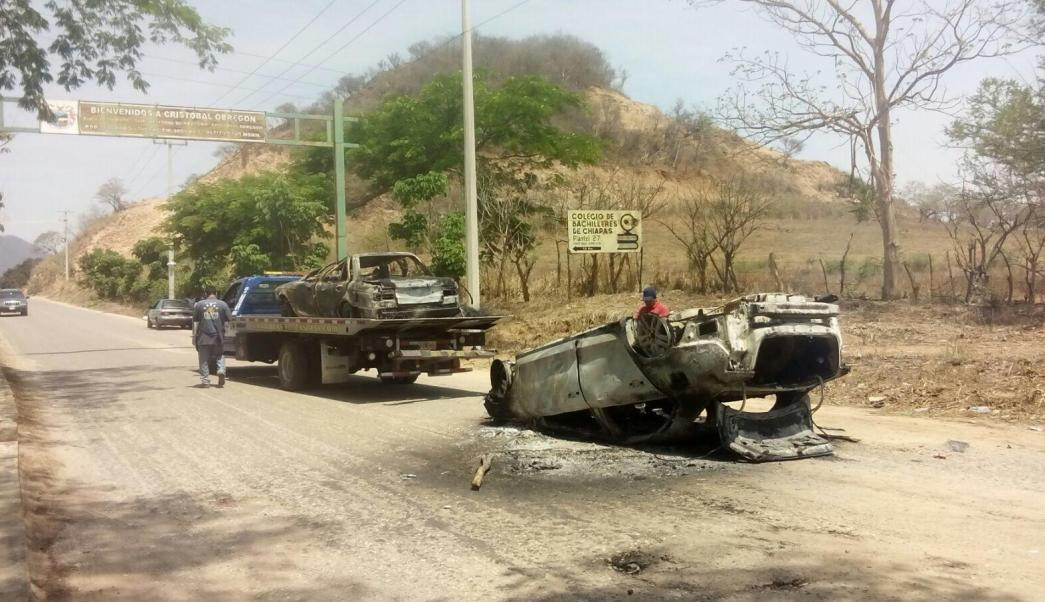 Riña entre transportistas en Villaflores, Chiapas. (Noticieros Televisa)