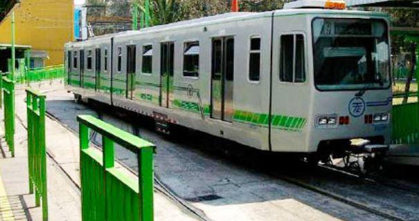 Se desalinean vías de la estación Xotepingo del Tren Ligero