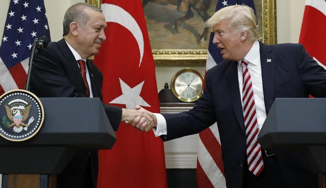 Los presidentes Recep Tayyip Erdogan y Donald Trump (Reuters)