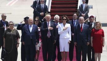 Trump, gira internacional,estados unidos, israel, presidente israelí, Reuvén Rivlin,