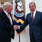 El presidente Donald Trump recibió al canciller ruso en la Casa Blanca (AP)