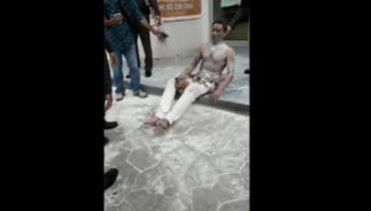 Un hombre se prendió fuego frente a la embajada de Irán en Tailandia