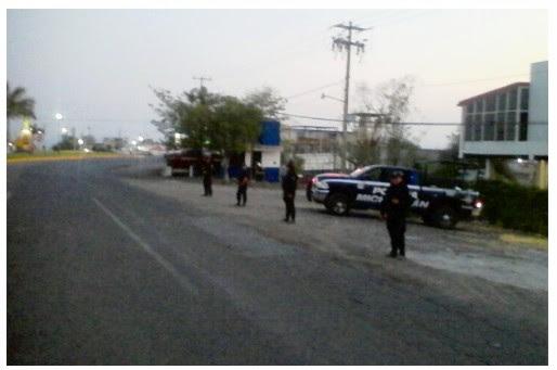 Autoridades, puntos de revisión, Michoacán, bloqueos carreteros
