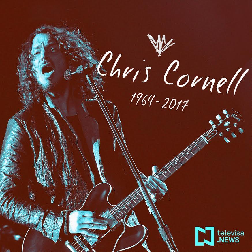 Forense confirma suicidio de cantante Chris Cornell