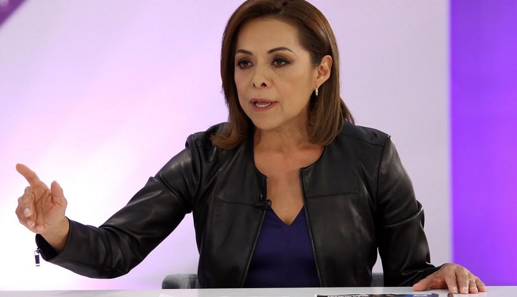 La candidata del PAN a la gubernatura del Edomex, Josefina Vázquez Mota (Notimex)