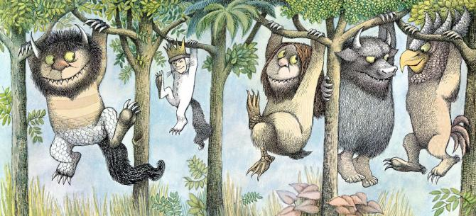 Maurice Sendak, where the wild things are, monstruos