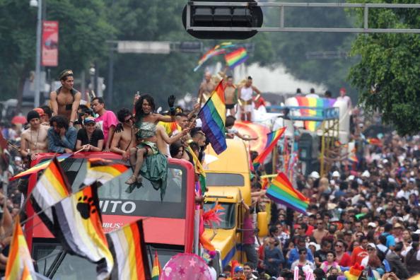 Resultado de imagen para marcha gay 2017 cdmx