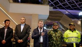 presidente de Colombia, Juan Manuel Santos, atentado en Bogotá, atentado, Bogotá