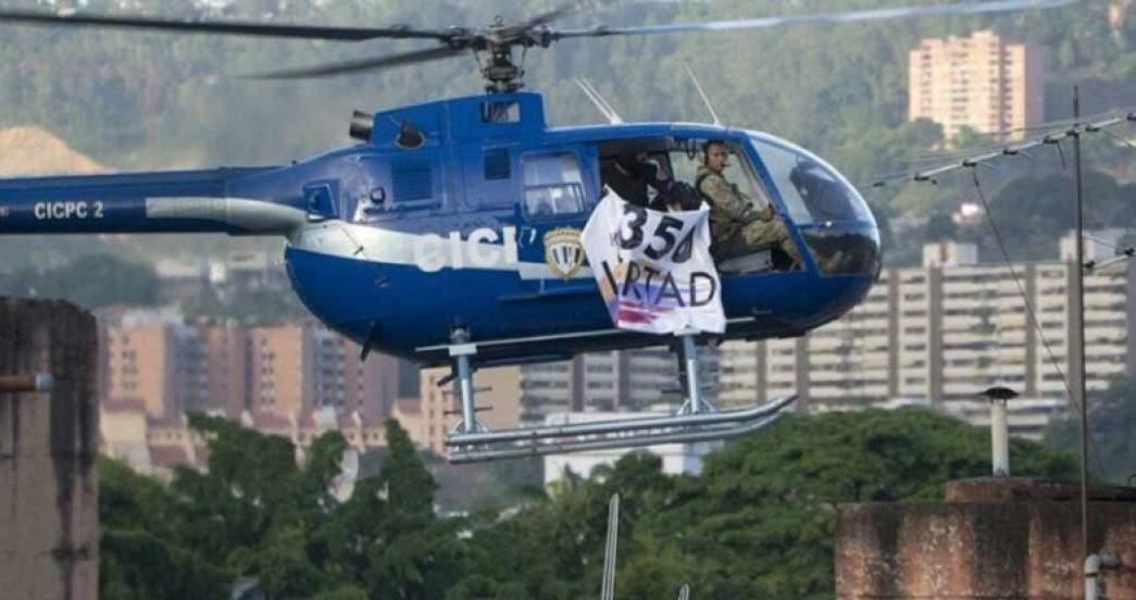 Helicóptero, Maduro, Secuestran, Protesta, Venezuela, Nicolás Maduro