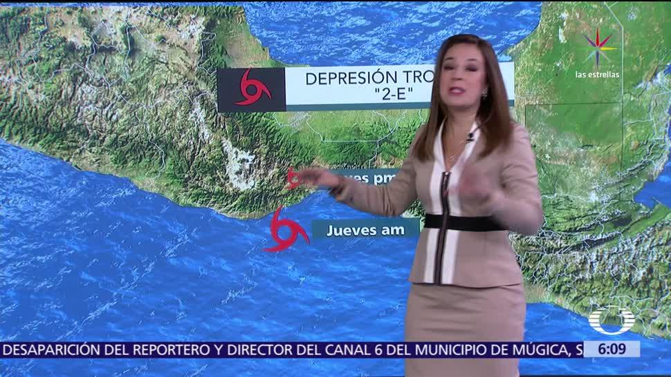 depresión tropical 2-E. tormenta tropical, tormentas fuertes, entidades