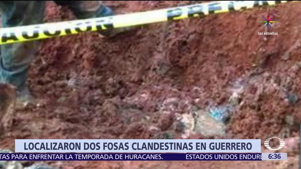 Guerrero, elementos del Ejército, Policía Estatal, Fiscalía, cuerpos, fosas clandestinas