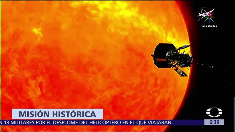 NASA, primera misión, atmósfera del Sol, verano del 2018