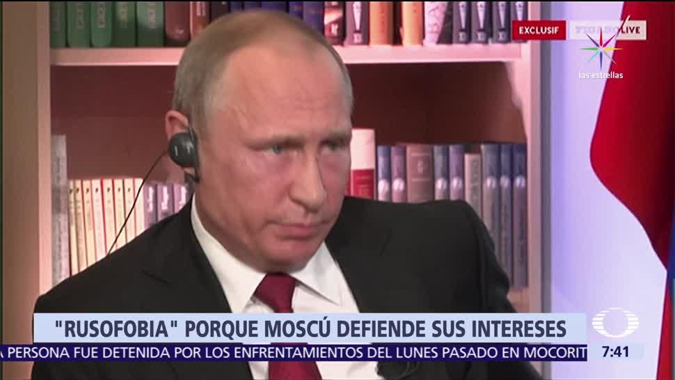 Vladimir Putin, mundo, rusofobia, Moscú