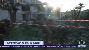 cifra de muertos, heridos, atentado en Kabul, Afganistán
