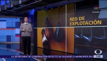 Autoridades de España, tratantes, personas, boxeadores