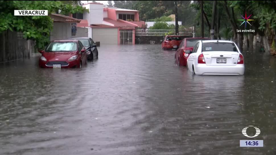 noticias, televisa, Inundaciones, Tabaso, Veracruz, fuertes tormentas