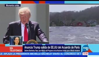 noticias, forotv, Acuerdo de París, seguirá, salida de EU, Dolores Barrientos