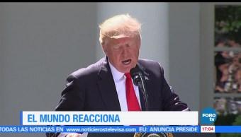 noticias, forotv, Europa, critica, decisión, Donald Trump