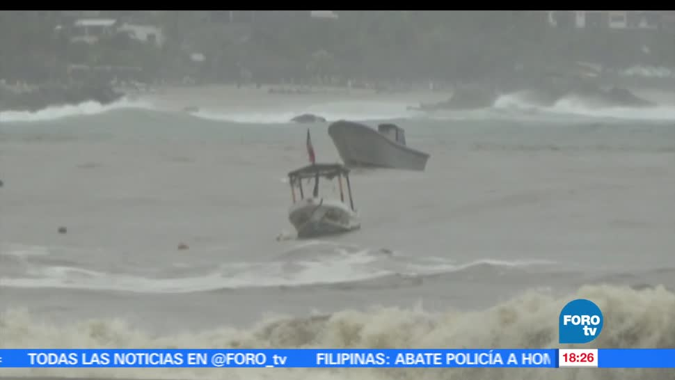 noticias, forotv, Alerta, Oaxaca, tormenta tropical, Beatriz