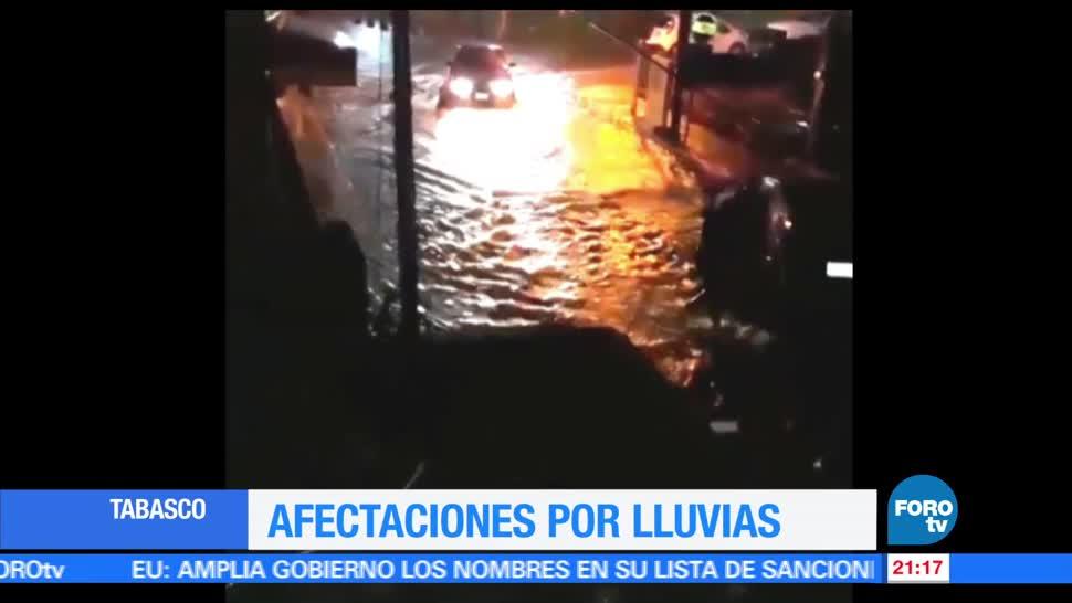Tormenta tropical, Beatriz, afectaciones, Tabasco, inundaciones, encharcamientos